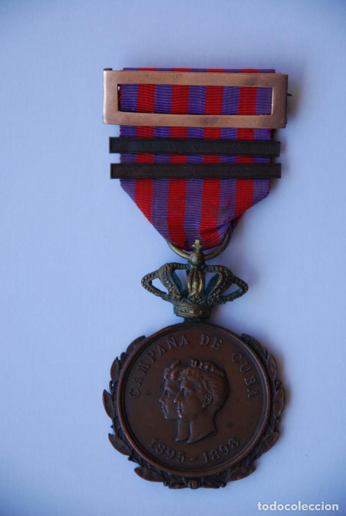 MEDALLA DE LA CAMPAÑA DE CUBA (Militar - Medallas Españolas Originales )