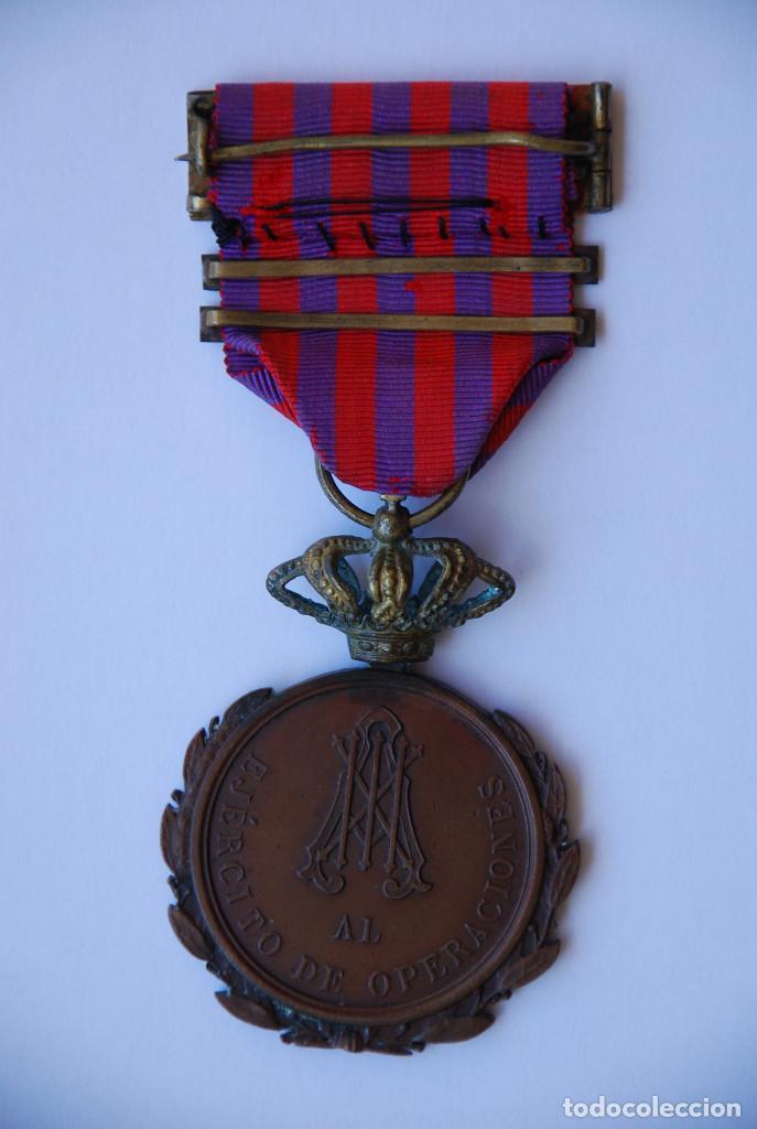 Militaria: Medalla de la campaña de Cuba - Foto 2 - 194360716