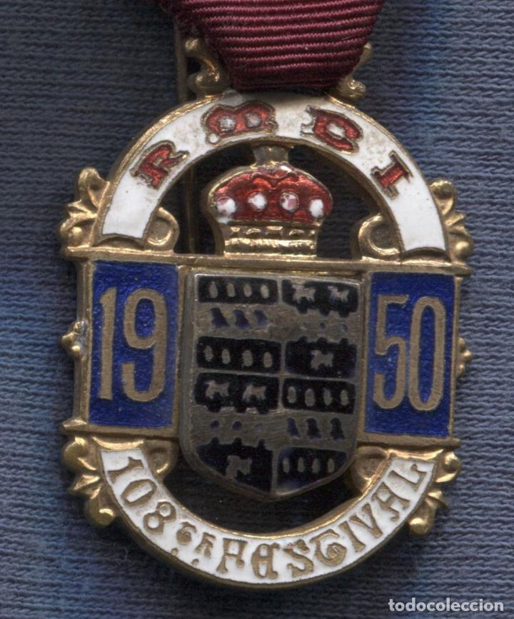 Medalla Masónica Británica  The Royal Masonic Benevolent Institution   Steward 1950