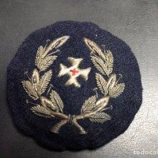 Militaria: PARCHE TELA LAUREADA MILITAR REPUBLICA SANIDAD. Lote 150005633