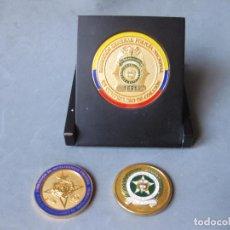 Militaria: TRES MEDALLAS DE LA POLICIA NACIONAL DE COLOMBIA - DIRECCIÓN DE INTELIGENCIA POLICIAL. Lote 150943346
