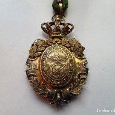 Militaria: MEDALLA DE LA REAL ACADEMIA DE NOBLES ARTES DE SAN FERNANDO. ÉPOCA ALFONSO XIII. ENVÍO GRATUITO.. Lote 151011386