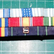 Militaria: USAF. US AIR FORCE . PASADOR DE 9 MEDALLAS . Lote 151054594