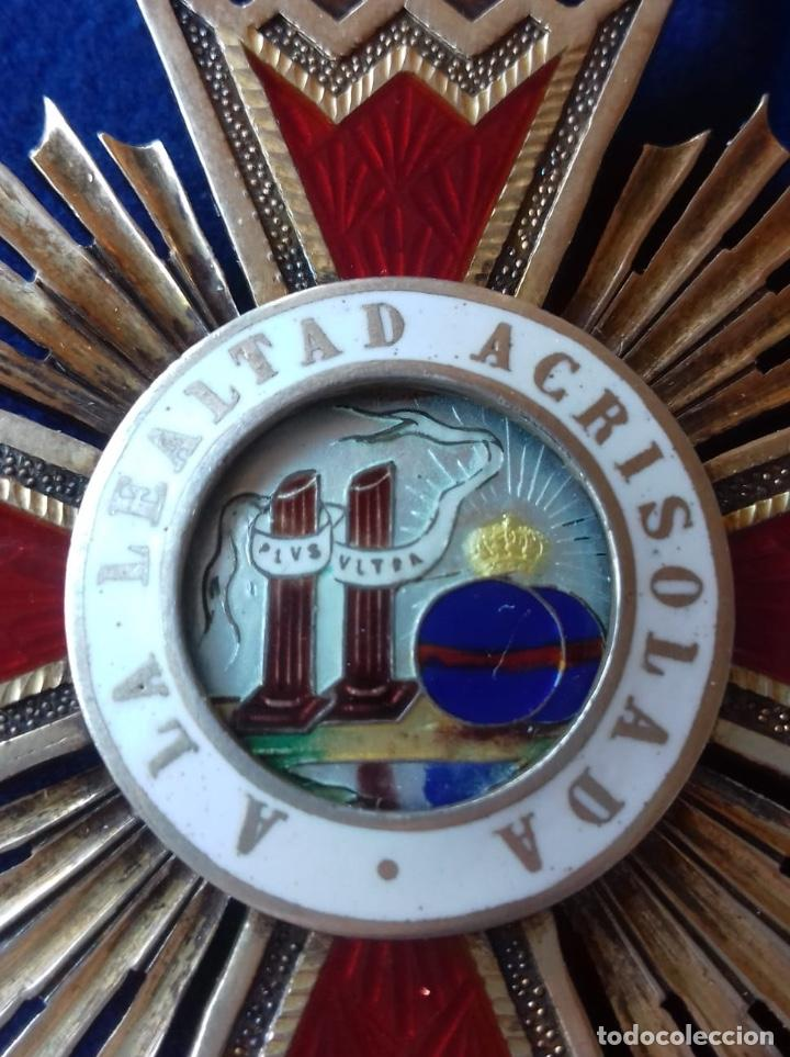 Militaria: ENCOMIENDA ORDEN ISABEL LA CATOLICA - EPOCA DE FRANCO - Foto 2 - 151414270