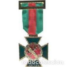 Militaria: MEEDALLA AL MERITO DE LA GUARDIA CIIVL CON DISTINTIVO ROJO. Lote 151487114