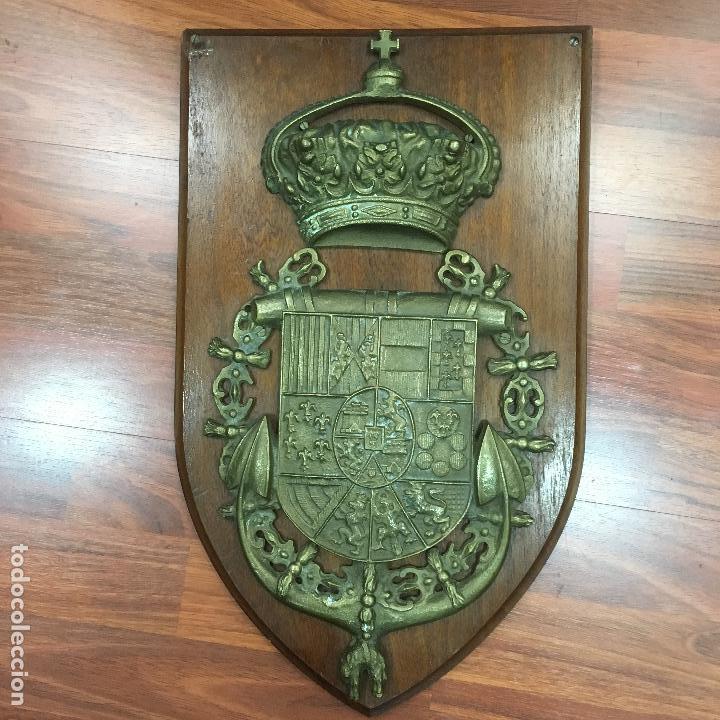 METOPA-ESCUDO DE LA MARINA DE CASTILLA (Militar - Reproducciones y Réplicas de Medallas )