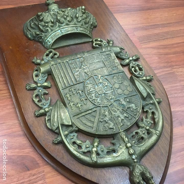 Militaria: METOPA-ESCUDO DE LA MARINA DE CASTILLA - Foto 4 - 151538806