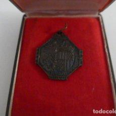 Militaria: ANTIGUA MEDALLA DE BADALONA, ORIGINAL.. Lote 151553158