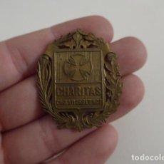 Militaria: ANTIGUA MEDALLA O EMBLEMA INSIGNIA DE CHARITAS, CARITAS, ORIGINAL. Lote 151555734