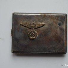 Militaria: WWII GERMAN CIGARETTE CASE SS/SA. Lote 151906890