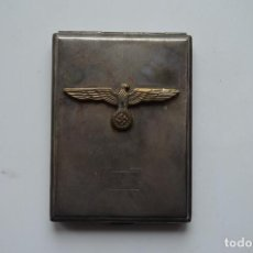 Militaria: WWII GERMAN CIGARETTE CASE WEHRMACHT. Lote 151906934