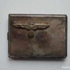 Militaria: WWII GERMAN CIGARETTE CASE KRIEGSMARINE/WEHRMACHT. Lote 151907162