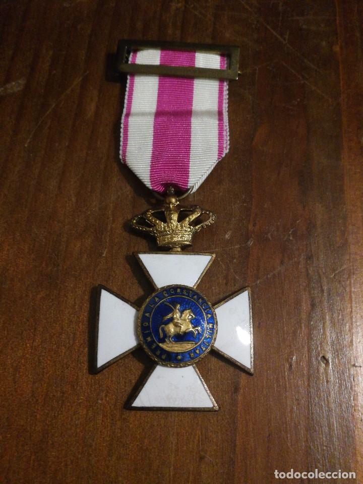 CRUZ DE LA REAL Y MILITAR ORDEN DE SAN HERMENEGILDO. ÉPOCA ALFONSO XIII. (Militar - Medallas Españolas Originales )