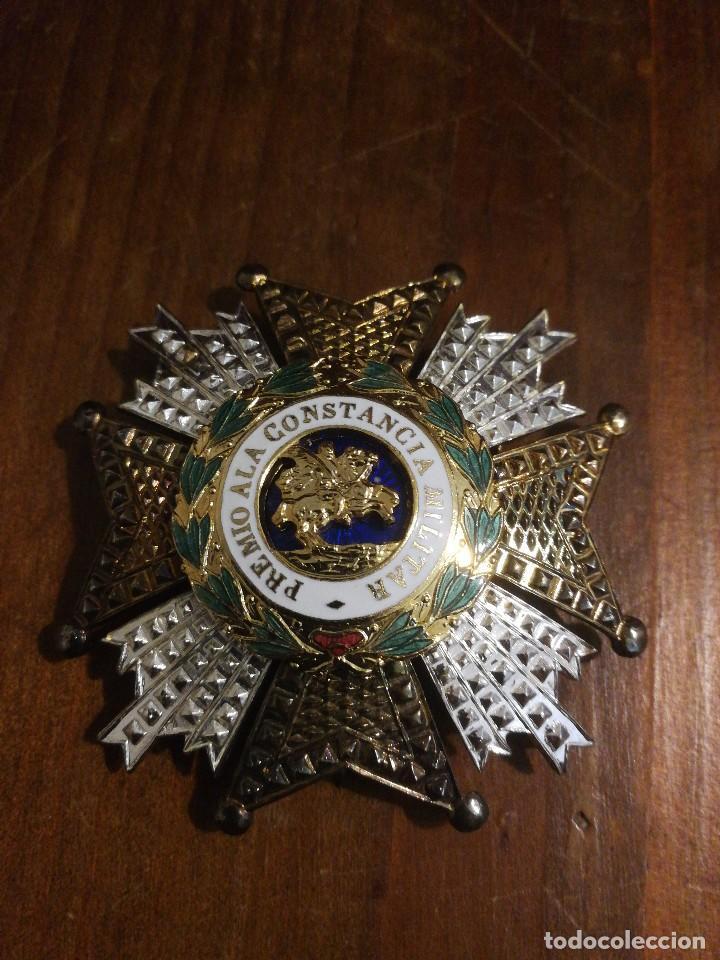 PLACA DE LA ORDEN DE SAN HERMENEGILDO. (Militar - Medallas Españolas Originales )
