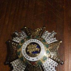 Militaria: PLACA DE LA ORDEN DE SAN HERMENEGILDO. . Lote 152063346