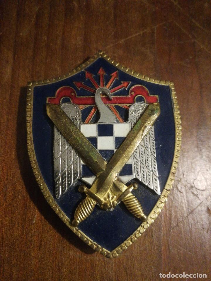 MEDALLA PLACA DE FALANGE, SE, SINDICATO ESTUDIANTES UNIVERSITARIOS. (Militar - Medallas Españolas Originales )
