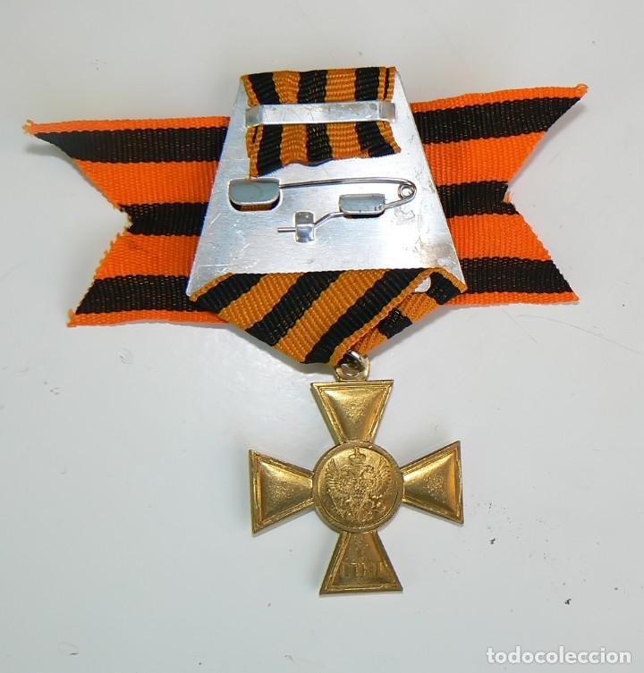 Militaria: Imperio ruso. Cruz de San Jorge 1 clase para los musulmanes - Foto 2 - 166004264