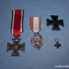 Militaria: * LOTE DE MEDALLA DE LA DIVISION AZUL PARA RECREACION HISTORICA O PARA MANIQUI. ZX. Lote 152218294