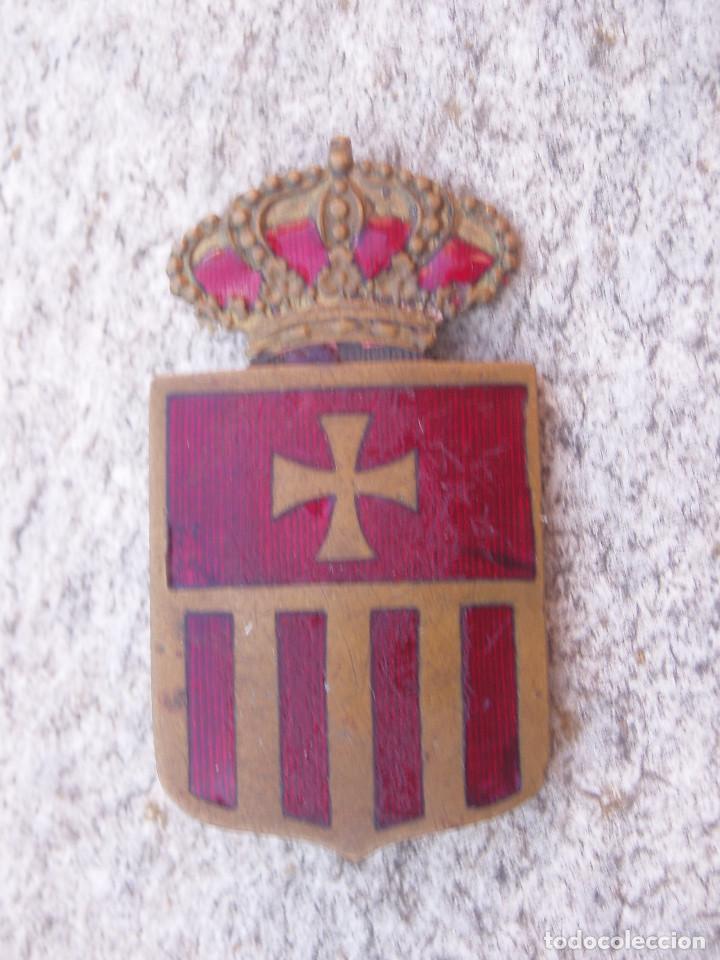 ESCUDO INSIGNIA ANTIGUA MERCEDARIOS. ORDEN DE LA MERCED. (Militar - Medallas Españolas Originales )