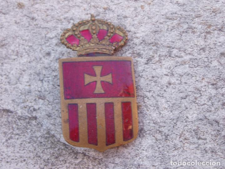 Militaria: Escudo Insignia Antigua Mercedarios. Orden de la Merced. - Foto 2 - 152361278