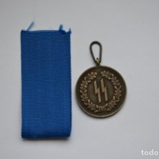Militaria: WWII GERMAN MEDAL LONG SERVICE AWARDS OF THE SS WAFFEN SS. Lote 152489898