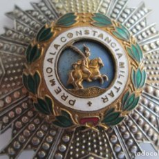 Militaria: PLACA PREMIO A LA CONSTANCIA MILITAR * ORDEN DE SAN HERMENEGILDO . Lote 160656760