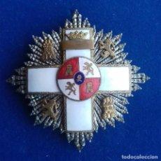 Militaria: PLACA DE 2ª CLASE DEL MERITO MILITAR CON DISTINTIVO BLANCO - EPOCA DE FRANCO. Lote 152779574