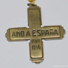 Militaria: MEDALLA AMÓ A ESPAÑA 19 VII 1936. GUERRA CIVIL. FRANCO. Lote 153017478