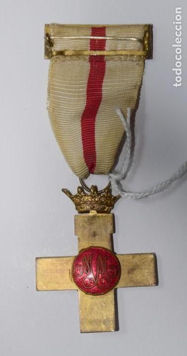 Militaria: Medalla Mérito Militar distintivo blanco época Franco - Foto 3 - 153019394