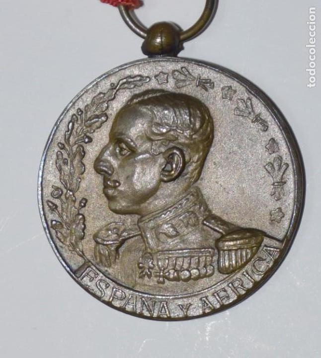MEDALLA DE ÁFRICA. ALFONSO XIII (Militar - Medallas Españolas Originales )