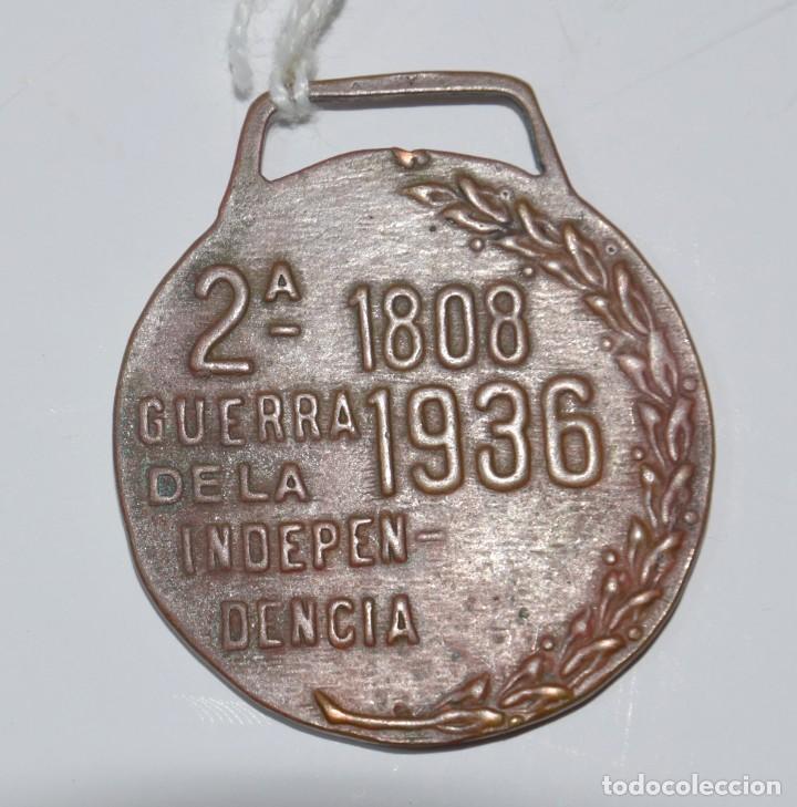 Militaria: Medalla 2ª guerra de la independencia 1808-1936 República - Foto 2 - 153183858