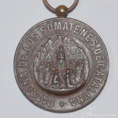 Militaria: MEDALLA SOMATÉN. PATRONA DE LOS SOMATENES DE CATALUÑA. ALFONSO XIII. Lote 153184690