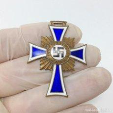 Militaria: MEDALLA CRUZ A LA MADRE ALEMANA CATEGORIA BRONCE, TERCER REICH. Lote 195263340