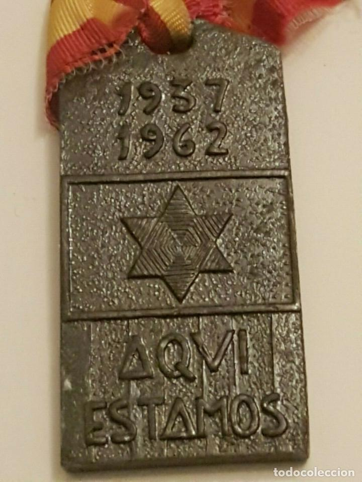 Militaria: MEDALLA ALFERECES PROVISIONALES 1937-1962 ACADEMIA MONASTERIO LLUCH GUERRA CIVIL - Foto 2 - 153982746