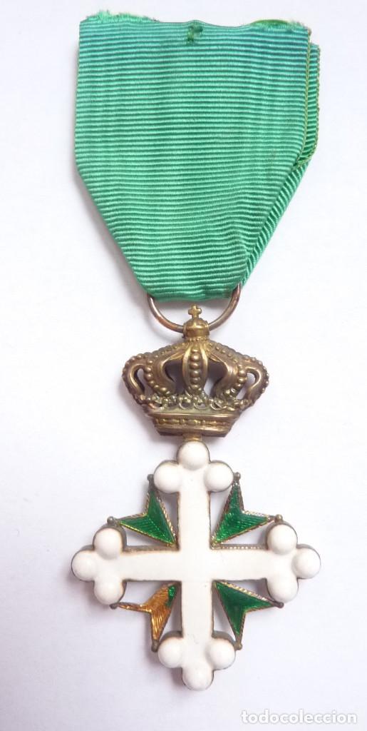 Militaria: Italia: Medalla de Oficial de la Orden de San Mauricio y San Lázaro. - Foto 2 - 154038618