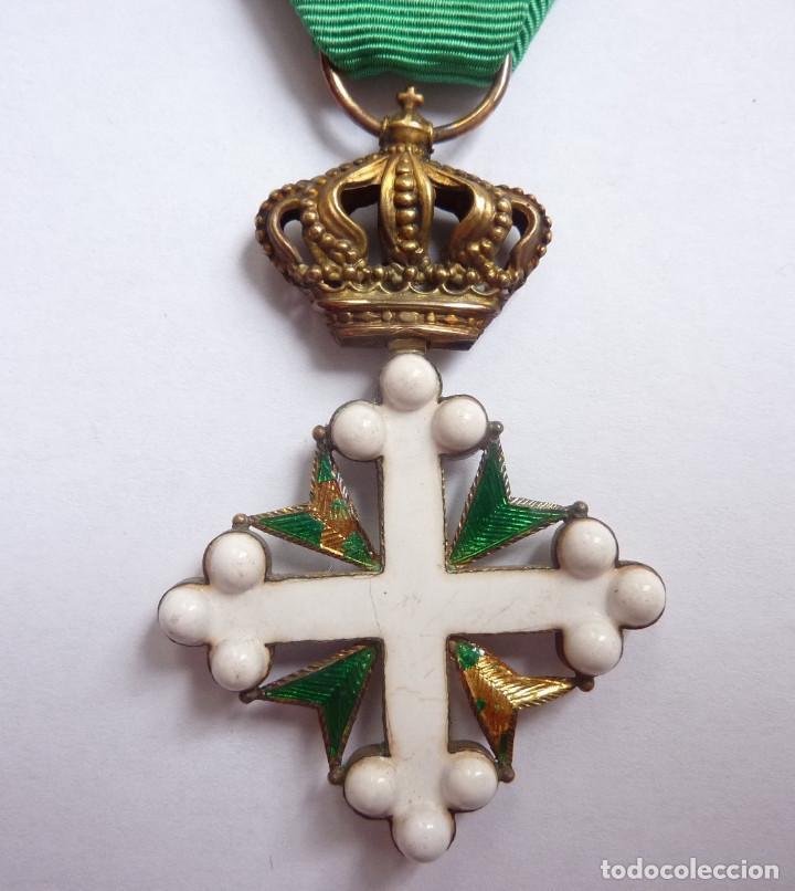 Militaria: Italia: Medalla de Oficial de la Orden de San Mauricio y San Lázaro. - Foto 3 - 154038618