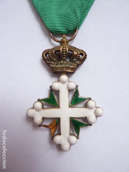 ITALIA: MEDALLA DE OFICIAL DE LA ORDEN DE SAN MAURICIO Y SAN LÁZARO. (Militar - Medallas Internacionales Originales)