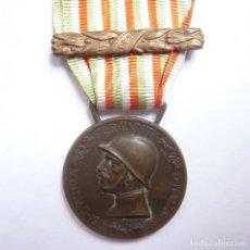 Militaria: ITALIA: MEDALLA CONMEMORATIVA DE LA PRIMERA GUERRA MUNDIAL - ACUÑADA EN EL BRONCE ENEMIGO - 1917. Lote 154041002