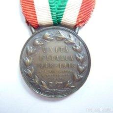 Militaria: MEDALLA POR LA UNIDAD DE ITALIA (1848 - 1918) PRIMERA GUERRA MUNDIAL. - VARIANTE. Lote 154042774