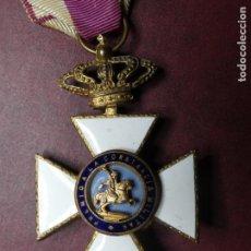 Militaria: CRUZ MEDALLA PREMIO A LA CONSTANCIA MILITAR F VII. ESMALTE MUY BUEN ESTADO. SAN HERMENEGILDO. Lote 154273282