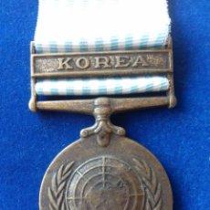 Militaria: ONU - NACIONES UNIDAS - MEDALLA DE KOREA 1950. Lote 154373694