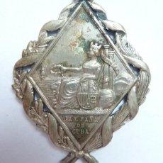 Militaria: ESPAÑA 1873 - MEDALLA CAMPAÑA DE LA GUERRA DE CUBA. Lote 154637162