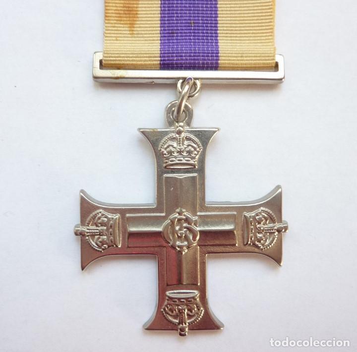 REINO UNIDO - MILITARY CROSS - MEDALLA AL HEROISMO MILITAR - INGLATERRA - RÉPLICA (Militar - Reproducciones y Réplicas de Medallas )