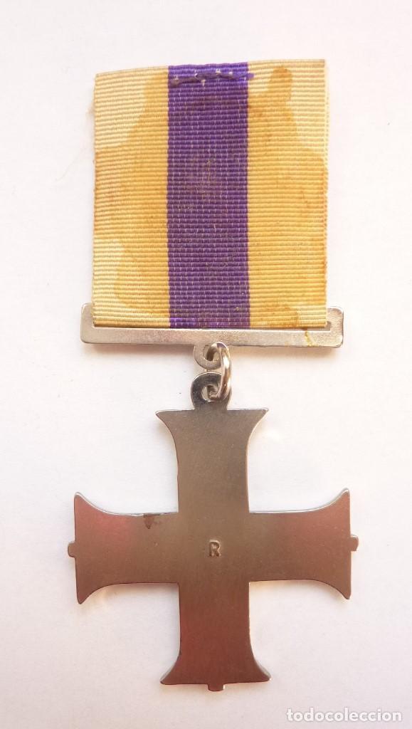Militaria: Reino Unido - Military Cross - Medalla al heroismo militar - Inglaterra - Réplica - Foto 3 - 154748310