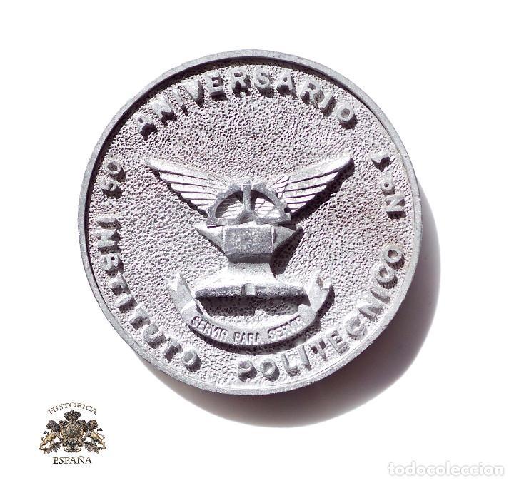 MEDALLA INSTITUTO POLITECNICO Nº1 - 50 ANIVERSARIO 1943 - 1993 - 7,5 CM DE DIÁMETRO (Militar - Medallas Españolas Originales )