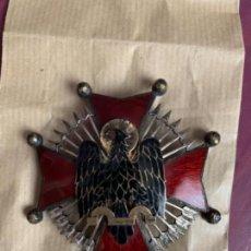 Militaria: PLACA ORDEN DE CISNEROS ORIGINAL, PERFECTO ESTADO. Lote 154959094