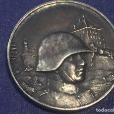 Militaria: MEDALLA BRONCE PLATEADO MILITAR LUCERNA LUZERN SUIZA HOCHDORF 1935 PEKA 34MM. Lote 156562842