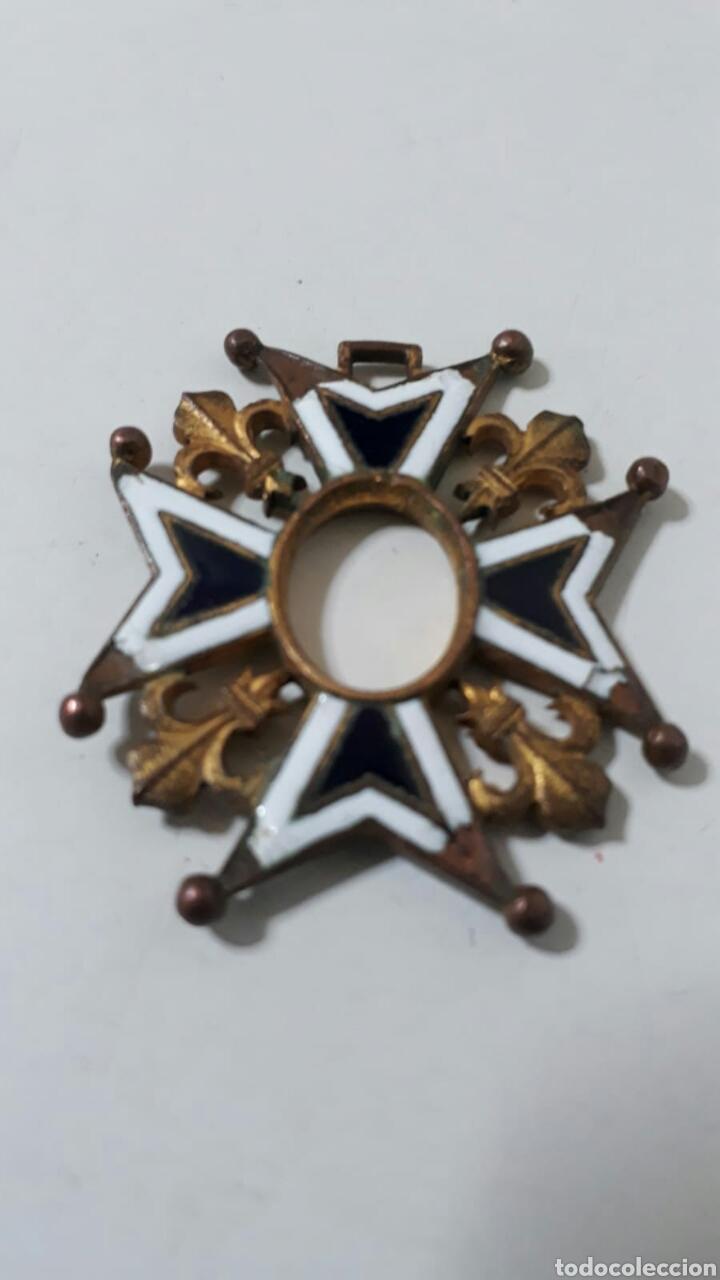 ORDEN CARLOS III.INCOMPLETA (Militar - Medallas Españolas Originales )