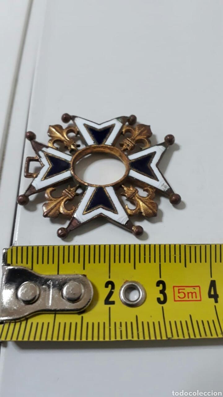 Militaria: ORDEN CARLOS III.INCOMPLETA - Foto 2 - 156628944