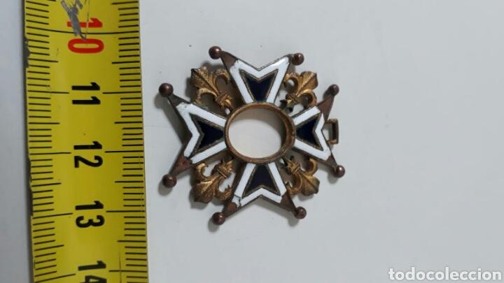 Militaria: ORDEN CARLOS III.INCOMPLETA - Foto 3 - 156628944